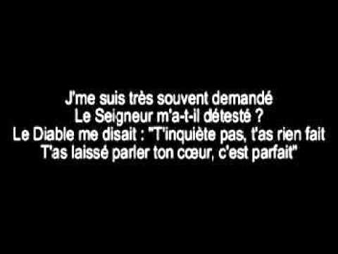 PAROLES Maitre Gims - La chute