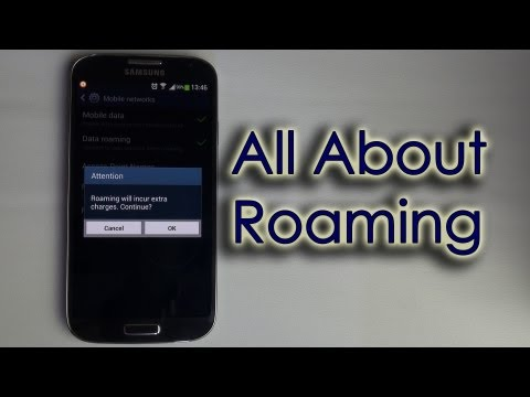 how to turn off roaming on xperia z