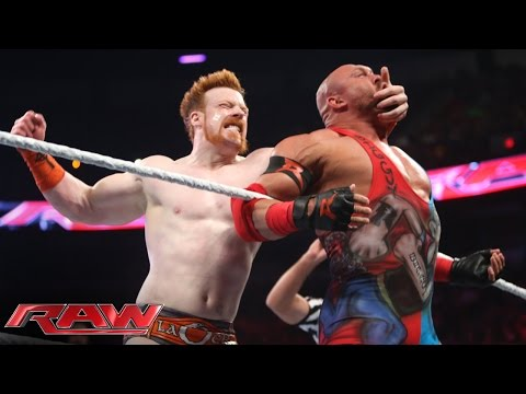Roman Reigns, Sheamus & Rob Van Dam vs. Randy Orton & RybAxel: Raw, Aug. 18, 2014