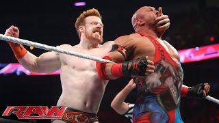 Roman Reigns, Sheamus & Rob Van Dam vs. Randy Orton & RybAxel: Raw, Aug. 18, 2014