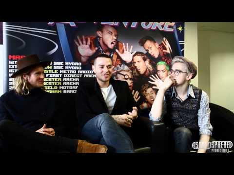 Soundspheremag TV Interview: McBusted