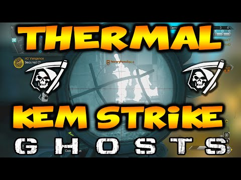 Strike - COD Ghosts Thermal KEM Strike - Can we get 2000 Likes? Leave a Like for this beast COD Ghosts / Call of Duty Ghosts KEM Strike Gameplay! COD Ghosts Sniper KEM Strike - http://youtu.be/lBgcMlV2dvY...