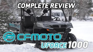 10. 2019 CFMoto Uforce 1000 review