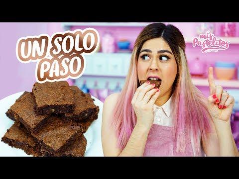 BROWNIES EN 1 PASO | MIS PASTELITOS