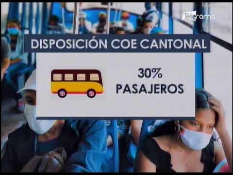Se registran aglomeraciones en transporte urbano de Guayaquil