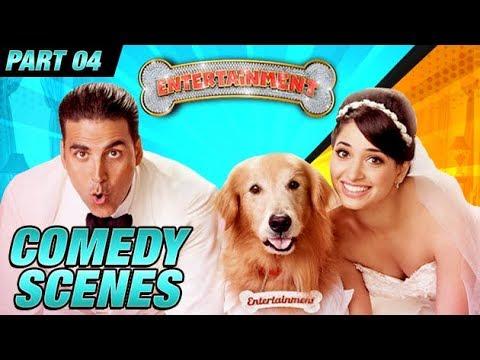 Entertainment Comedy Scenes  Akshay Kumar, Tamannaah Bhatia, Johnny Lever  Part 4