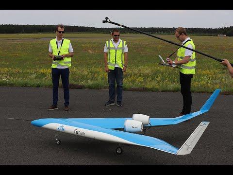 Flying-V eerste testvlucht