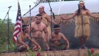 Performance of the Nauru Group at the 12th Festpac, Guam, May 2016.