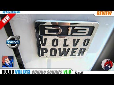 Volvo VNL ISX D13 & D16 Sound v1.0