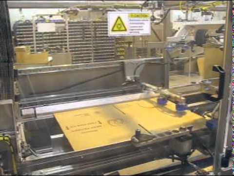 HCE Bakery Box 12 cpm Case Erector