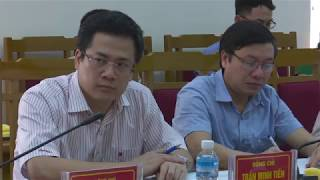 BTV Huyện uỷ nghe và cho ý kiến vào Dự thảo Đề án cơ cấu lại kinh tế nông nghiệp, nông thôn gắn đô thị hóa và phát triển công nghiệp, dịch vụ huyện Hoành Bồ đến năm 2025, định hướng đến năm 2030