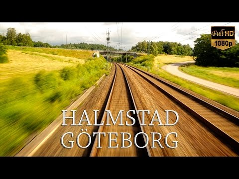 Train Driver's View: Halmstad to Göteborg