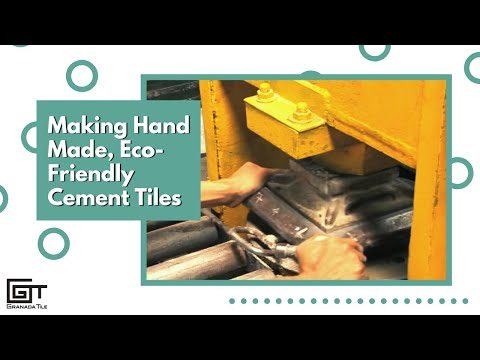 Making Hand Made, Eco-Friendly Cement Tiles - Short Version