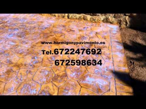 Presupuesto  Hormigon Impreso Alcora (l') Tel.672247692  Castellón – Castelló