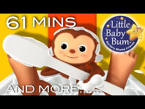 , title : 'Bath Song | Plus Lots More Nursery Rhymes | 61 Minutes Compilation from LittleBabyBum!'
