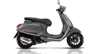 2. Must Watch 2017 Vespa Sprint 150S IGET Price & Spec
