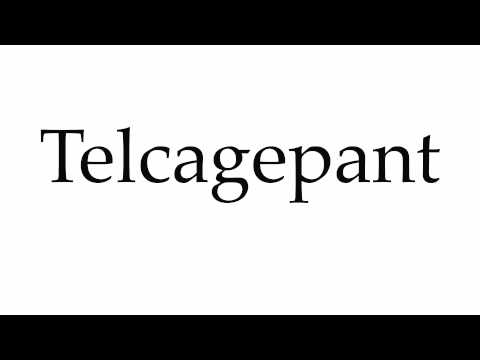 How to Pronounce Telcagepant