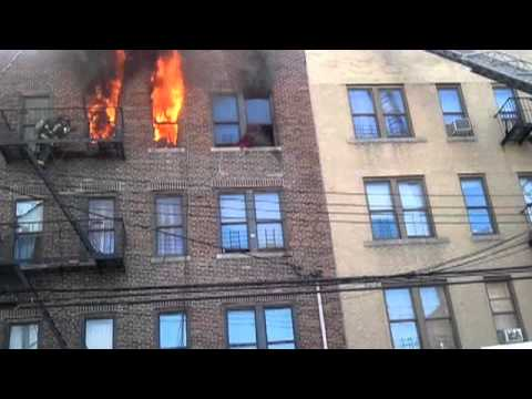 Three children rescued in Bronx fire