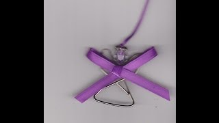 How to Make a Paperclip Angel - YouTube