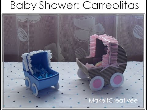 [Baby Shower] Carreolita con dulces||DECORACIÓN