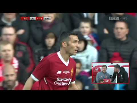 Luis Garcia – LFC Legends vs Bayern Munich Legends