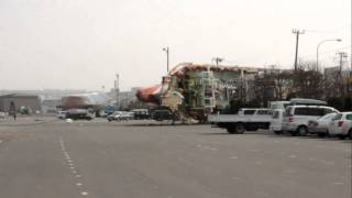 Hachinohe Japan  City pictures : Devastation from 9.0 earthquake in Hachinohe, Japan