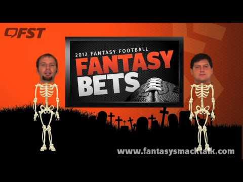 2012 Fantasy Football Week 9 Fantasy Fix (Halloween Special)