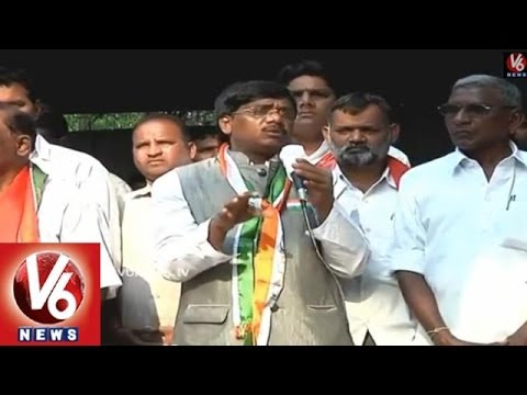 KCRs Fake Promises Forced me to Rejoin Congress  MP G Vivek