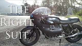 8. Cafe Racer (Moto Guzzi V7 Stone by Brad Bennett)