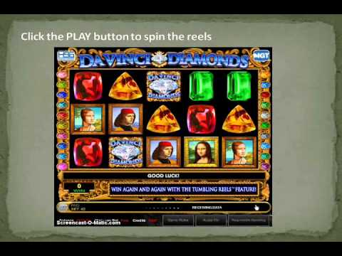 How to play Da Vinci Diamonds – NET ENT Slots