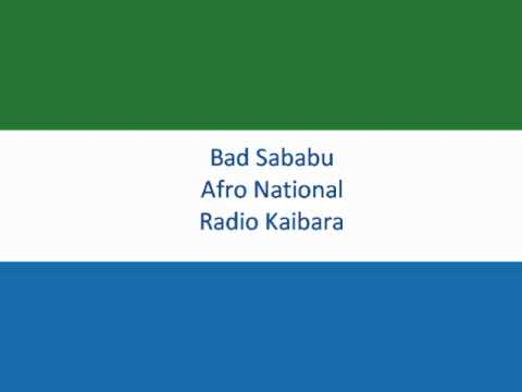 Bad Sababu -- Afro National
