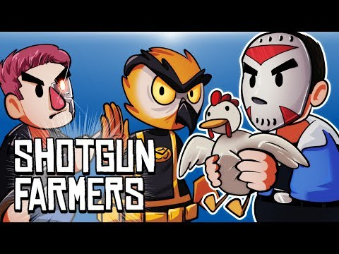 SHOTGUN FARMERS - CATCH THE CHICKEN!!!!