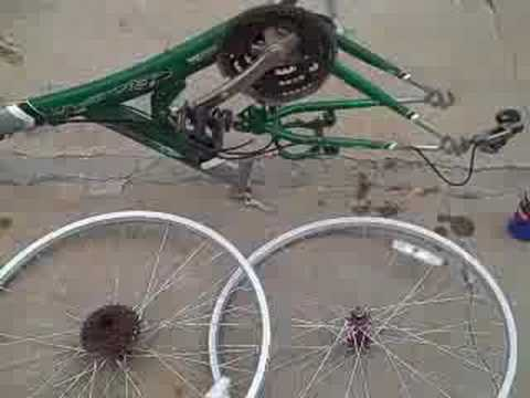 Restoring Mountian Bike Pt.1 (видео)