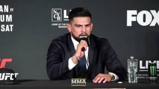 UFC on FOX 25: Kelvin Gastelum Post-Fight Press Conference - MMA Fighting by MMA Fighting