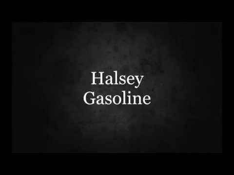 Halsey--Gasoline Lyrics видео