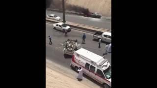 كشف ملابسات الحادث الجماعي الذي وقع على طريق الملك فهد قبل أيام
