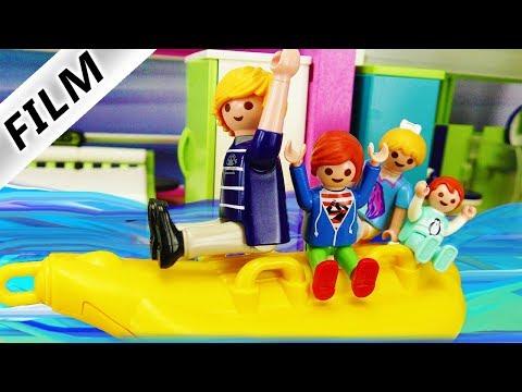 Playmobil Film deutsch | ÜBERSCHWEMMUNG IN LUXUSVILLA - Kreativer Julian |Kinderserie Familie Vogel