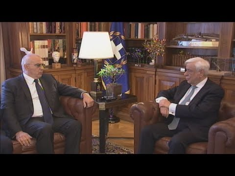 Συνάντηση του ΠτΔ με την Ελληνική Ένωση Τραπεζών
