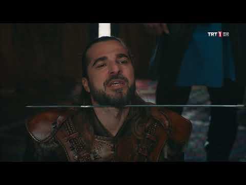 Diriliş Ertuğrul 108. bölüm - Ertuğrul'un Sultan'ın Huzuruna Çıkması