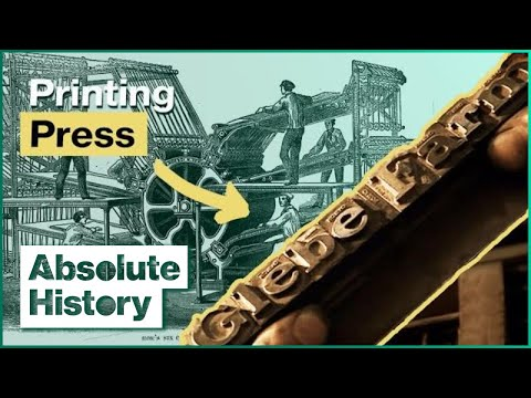 How The Printing Press Changed The World | Victorian Farm EP6 | Absolute History