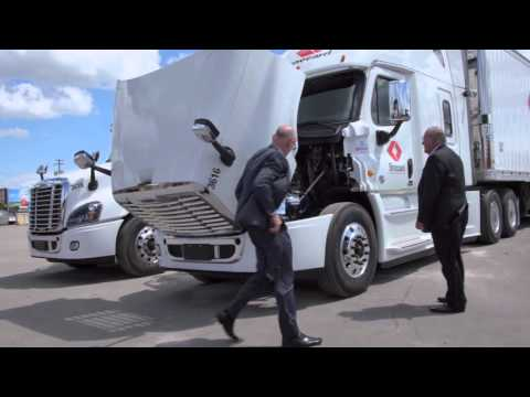 Brossard Leasing Success Story | Freightliner Trucks