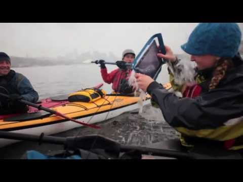 Sea Kayaking with E-Case