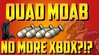 Video MW3: Quad MOAB on Bootleg   No More Xbox?!?! MP3, 3GP, MP4, WEBM, AVI, FLV Juni 2018