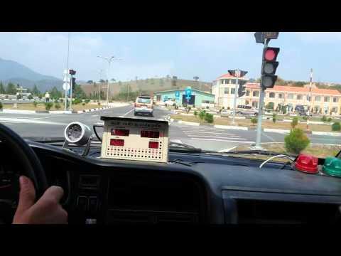 Một số lỗi và kinh nghiệm lái xe sát hạch sa hình cảm ứng B2