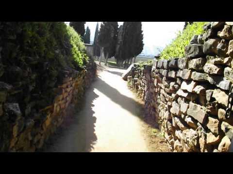 Exiting Dolmen de El Romeral - Dólmenes