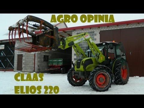 Agro Opinia: Claas Elios 220 w codziennych obowiązkach