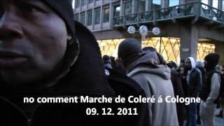 no comment Marche de Coleré á Cologne