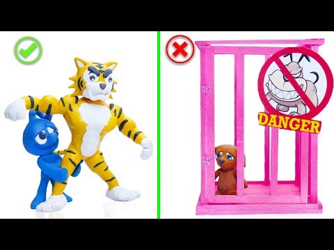 Download Video CLAY MIXER: REGRETING LIFE OF PETS 💖 Play Doh Cartoons For Kids