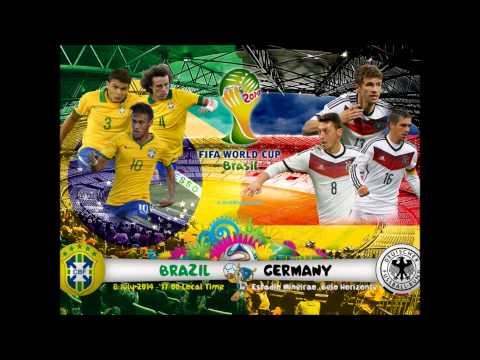 Sport: WM 2014 Halbfinale Brasilien - Deutschland (Ra ...