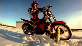 9. [Twixtor] Beta Evo 125 Winter Slow Motion